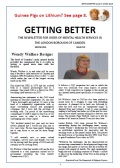 MH newsletter Issue 5 Front page