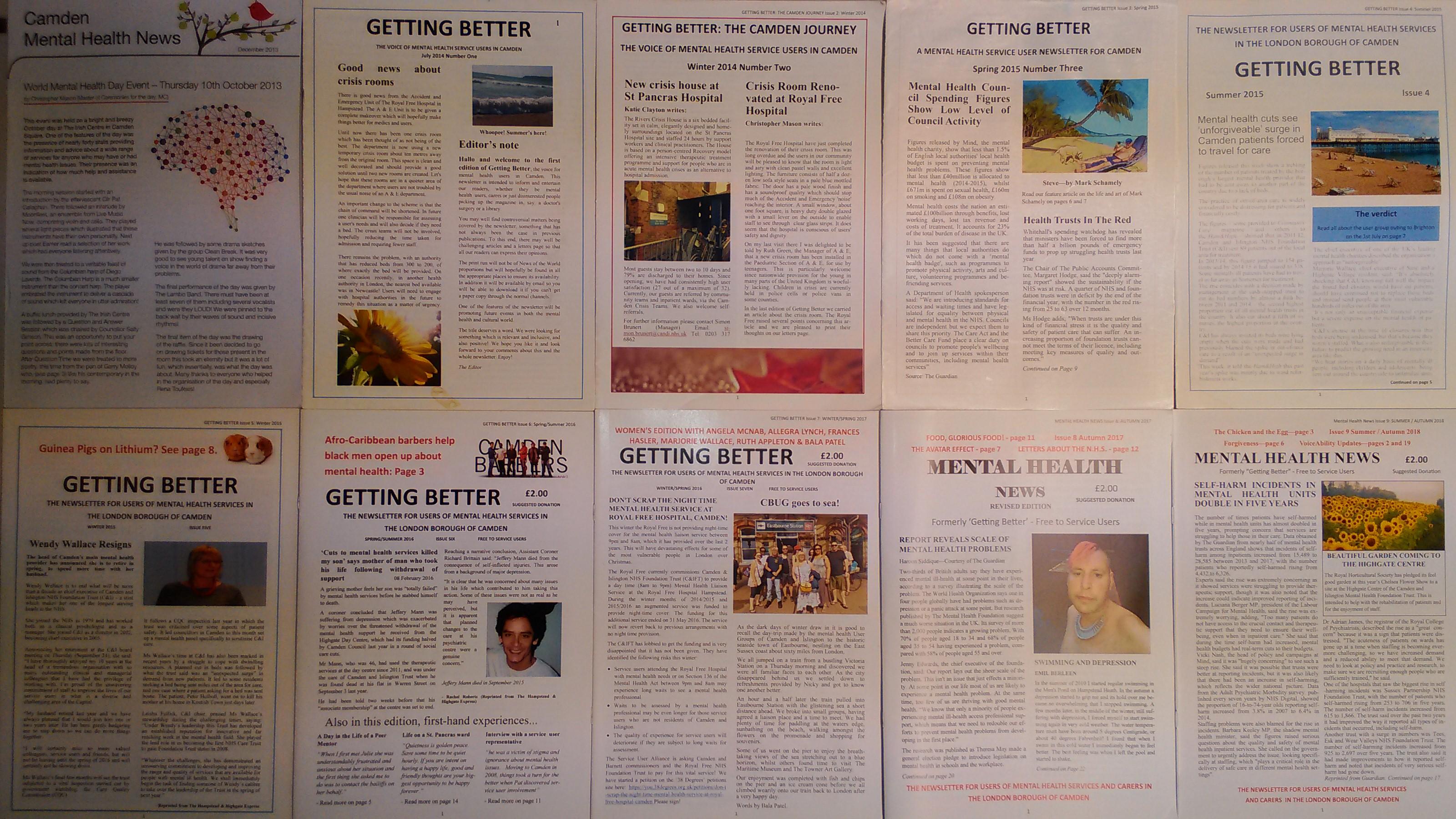 CBUG newsletters